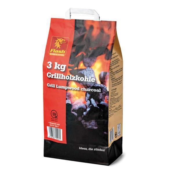 FLASH Grillholzkohle 3 kg -