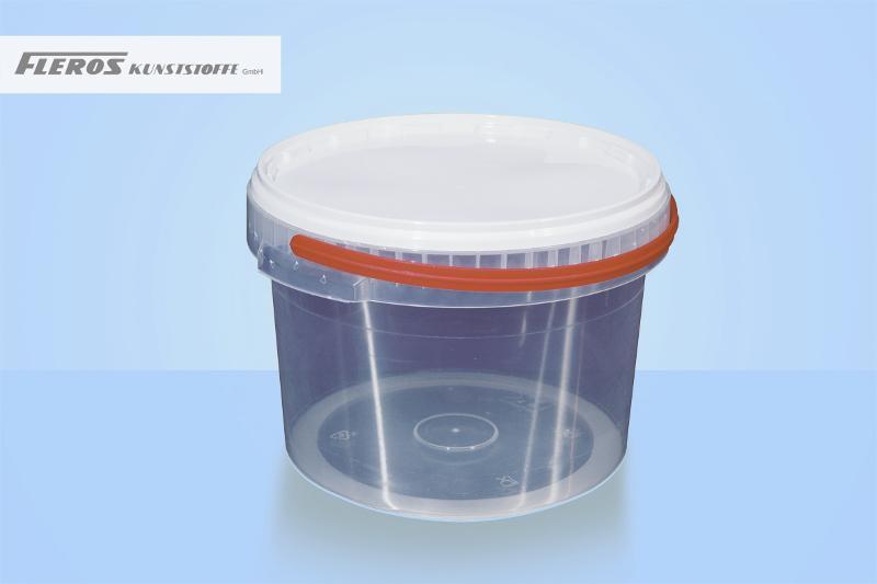 Round buckets - FK-R 2.500 bucket, round, PP