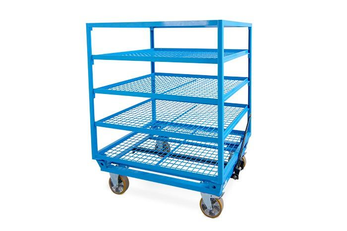 STILL LiftRunner® - Trolley RackRunner Routenzuganhänger -