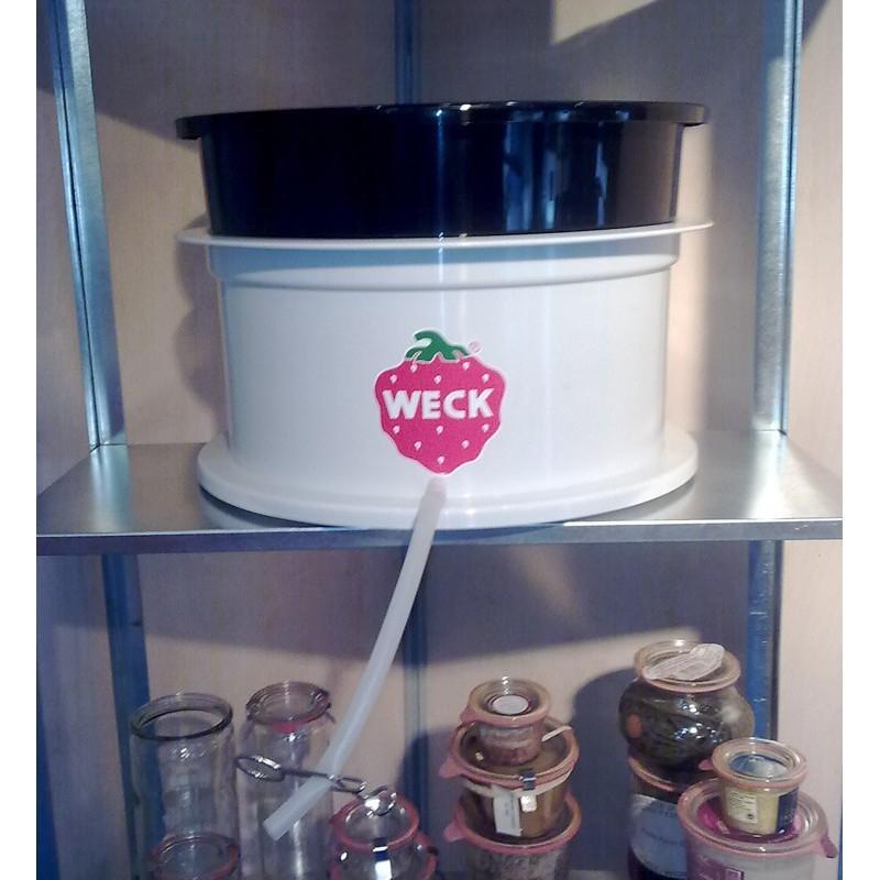 Exctracteur de jus Weck blanc modèle WSG20K - Stérilisateurs Ménagers et extracteurs de jus WECK