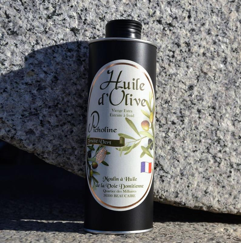 Huile d'olive Picholine Métal