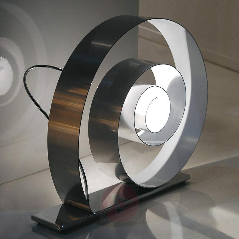 Floor lamp Slowly in snail shape - indoor-lighting