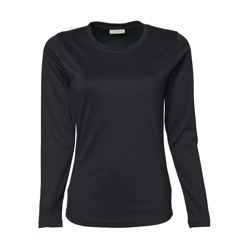 Tee-shirt femme Interlock S-L - Manches longues