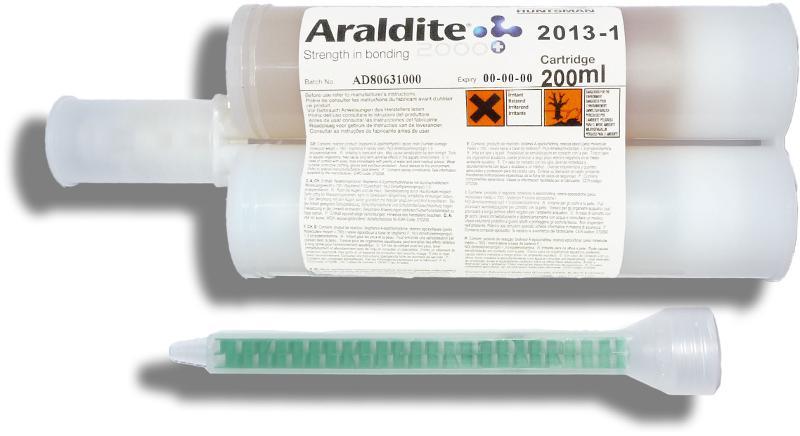 Araldite 2013-1   200 ml Doppelkartusche mit ZMS - ARA-2013-1-200