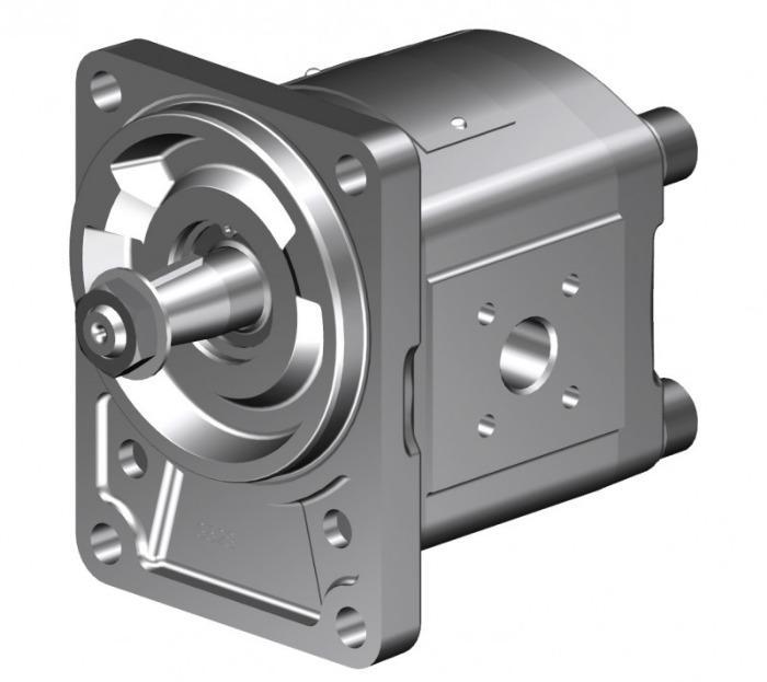 Motorreductores de alta presión KM 1 - Con compensación axial hidráulica