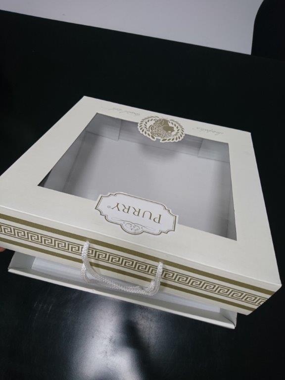 Embalaje con ventana - Embalaje impreso en offset