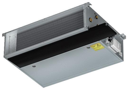 Klimakonwektory Venkon XL - Venkon XL. Ogrzewanie, chłodzenie, do zwiększonej kompresji zewnętrznej.