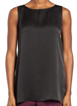 100% Silk Satin Blouse - Petite & Regular - Silk Dresses | Silk Tops | Manufacturer & Exporters