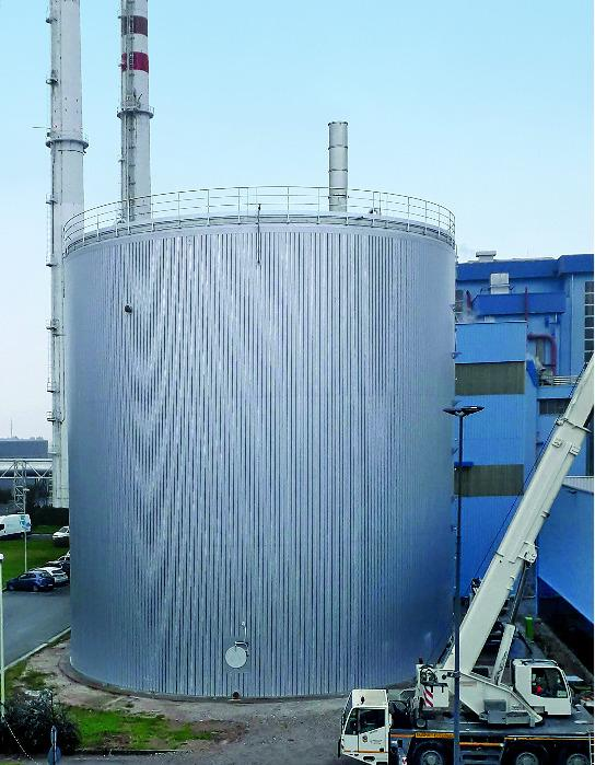 Lipp® Large Thermal Storage Tank  - Welded Carbon Steel Tanks for heat storage - from 2,000 to 6,000 m³