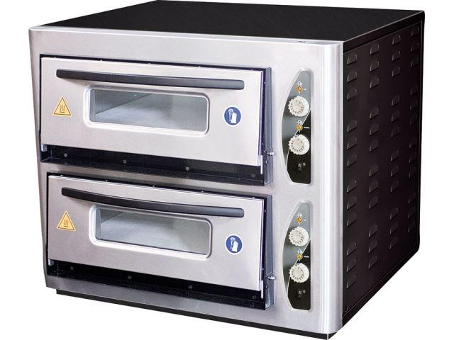 PO 501-502 SINGLE & DOUBLE DECK PIZZA OVENS