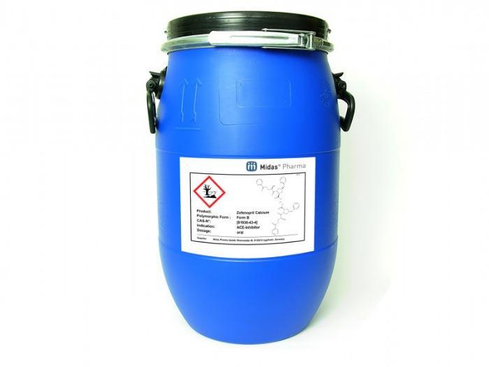 Zofenopril cálcico - Zofenopril cálcico, 81938-43-4, Sustancia activa