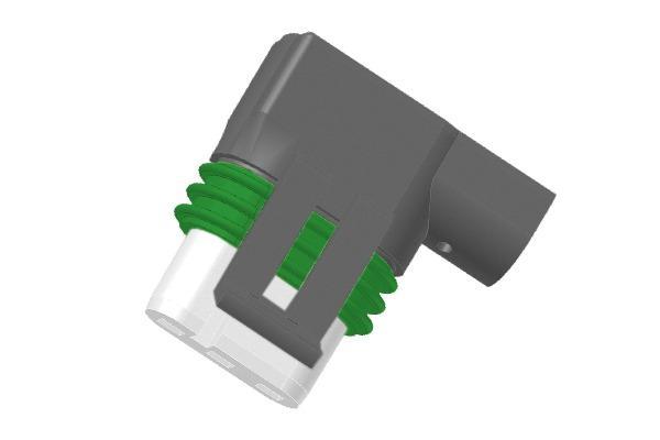 Connettore angolato per alimentazione elettrica pompe Grundf -