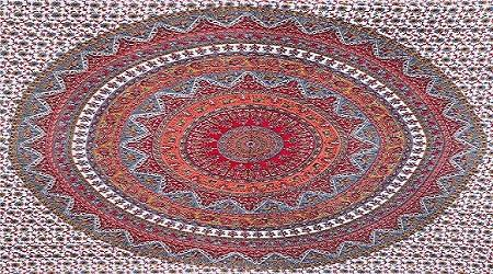 ombre indian mandala Cotton tapestry hippe wall decor