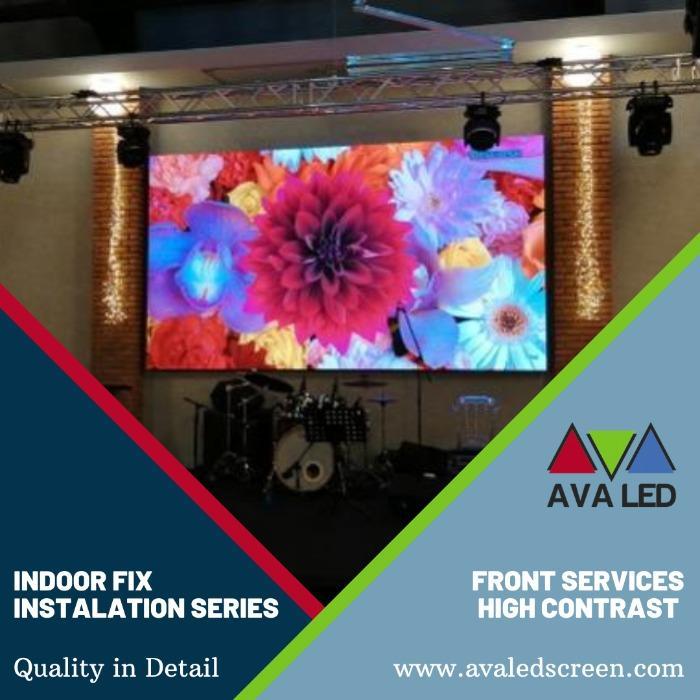 Led ekraan pulmasaalidele - Mini Pixel AVA LED-ekraanid
