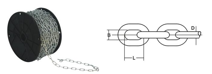 Welded Link Chain - Genovese Chain
