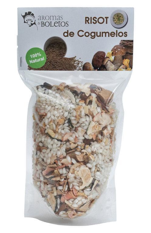 Risotos de Cogumelos Selvagens - Também Risoto de Cogumelos e Algas