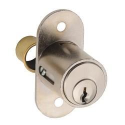 Interchangable cylinder core system - Glass door lock