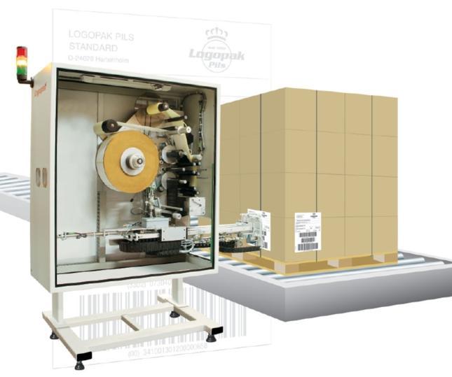 Logomatic 920 - Étiqueteuse automatique palettes