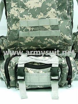 US Tactical Molle Assault Backpack Bag Digital ACU Camo - PNS-BA25