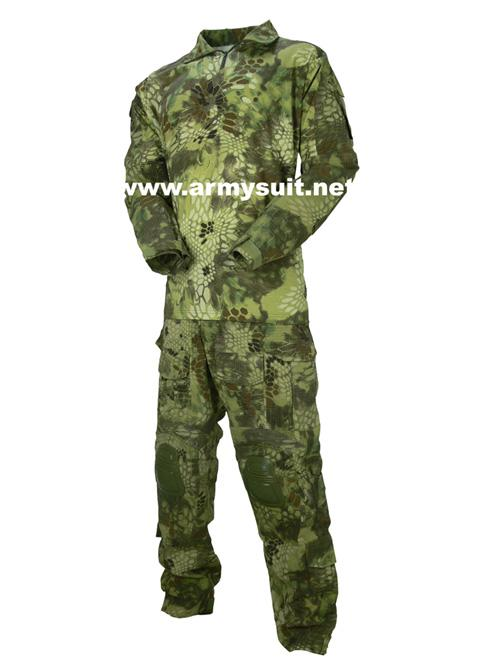 Combat Shirt & Pants with Elbow & Knee Pads
