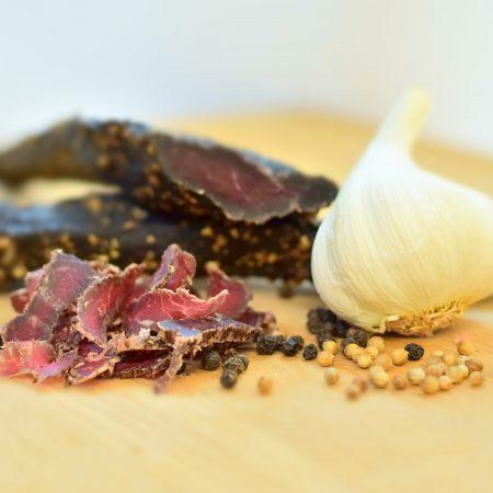 Garlic biltong