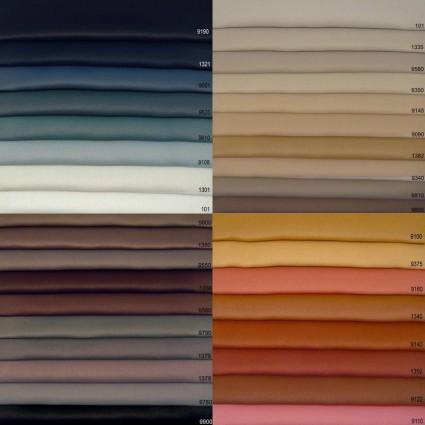 Rideaux d'occultation - Paire de rideaux obscurcissants Night ruban fronceur nonfeu M1 150 x 230cm 58