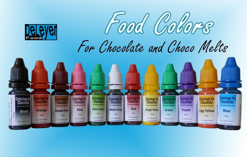 Food colorings - Oil Dispersible Food Colorings