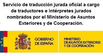 Traductores jurados de inglés a español - null