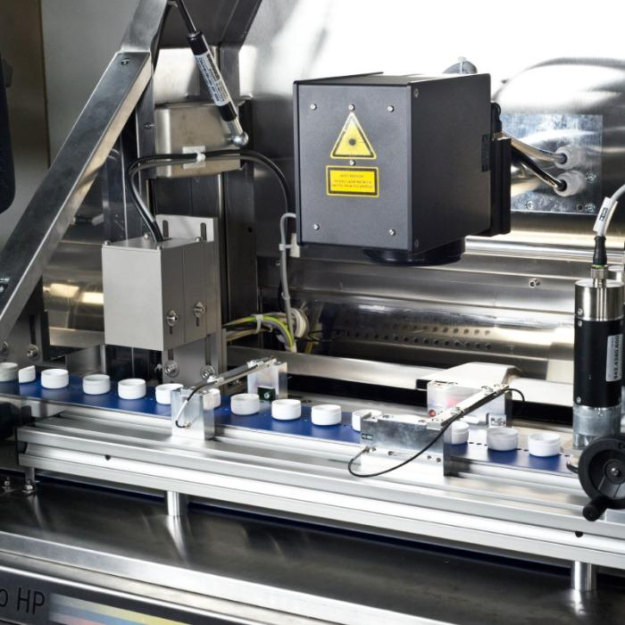 MOF-PROMO HP Laser System - High-performance laser marking system for closure caps