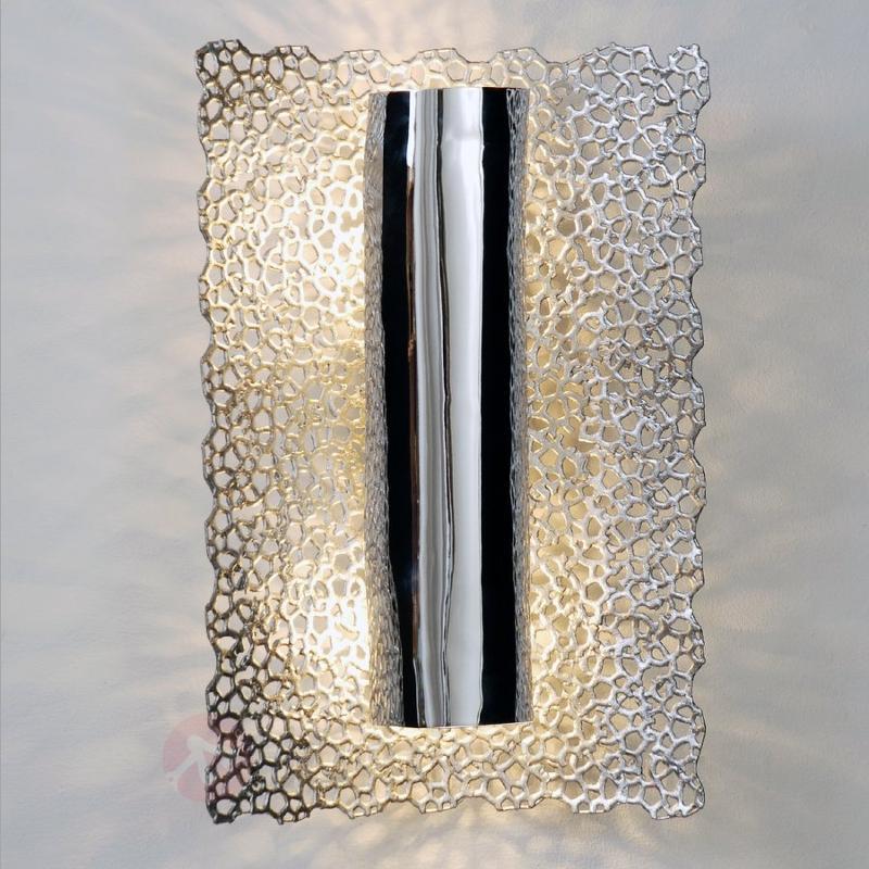 Applique exclusive Utopistico, chrome argenté - Appliques chromées/nickel/inox