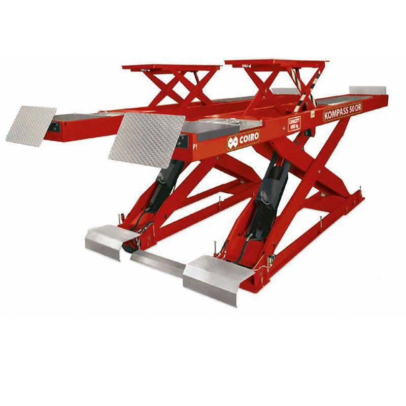 Elevador de tijeras pantógrafo  - COIRO modelo KOMPASS 50
