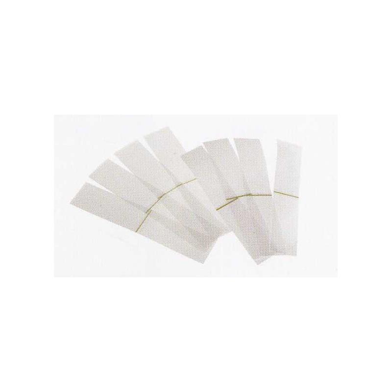 100 Mangas de inviolabilidad  - para bocales WECK diámetro 60 mm.