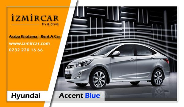 Hyundai Accent Blue Dizel Otomatik - İzmir Havaalanı Araba Kiralama | Oto Kiralama İzmir