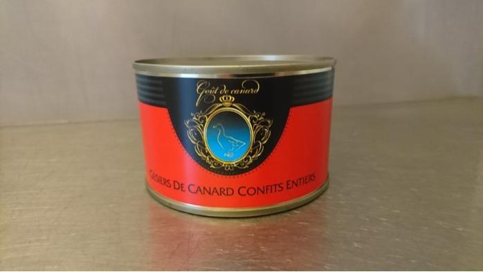 Duck gizzards confit/Патешки воденички конфи - Duck gizzards confit, 0.380kg/Патешки воденички, 0.380 kg