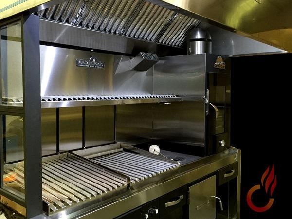 Parrilla Con Horno Y Cocina