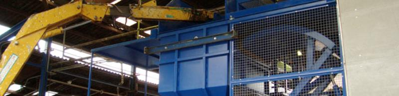 Systems for special waste recycling. - plant engineering