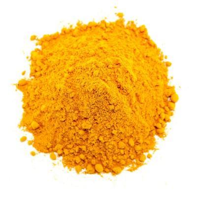 Turmeric powder  -  ground spices Powders of india