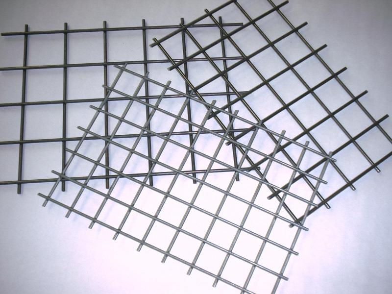 Punktschweißgitter aus Stahl und Edelstahl