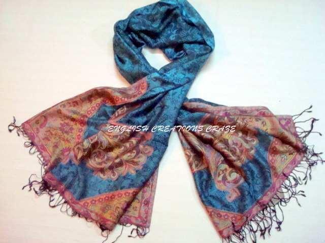Silk Jacquard scarves - Silk Jacquard scarves