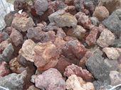 Galets - bloc de pouzzolane : pouzzolane en 100/200