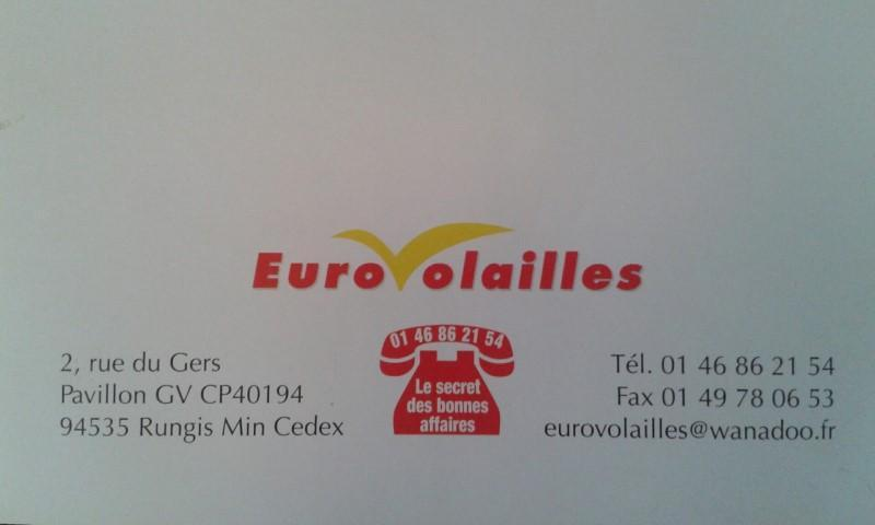 vente en gros de volailles  - à Rungis