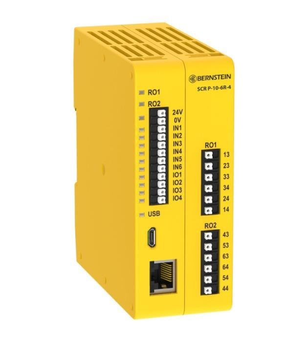 Programmable safety controller SCR P - The smart solution for machine safety