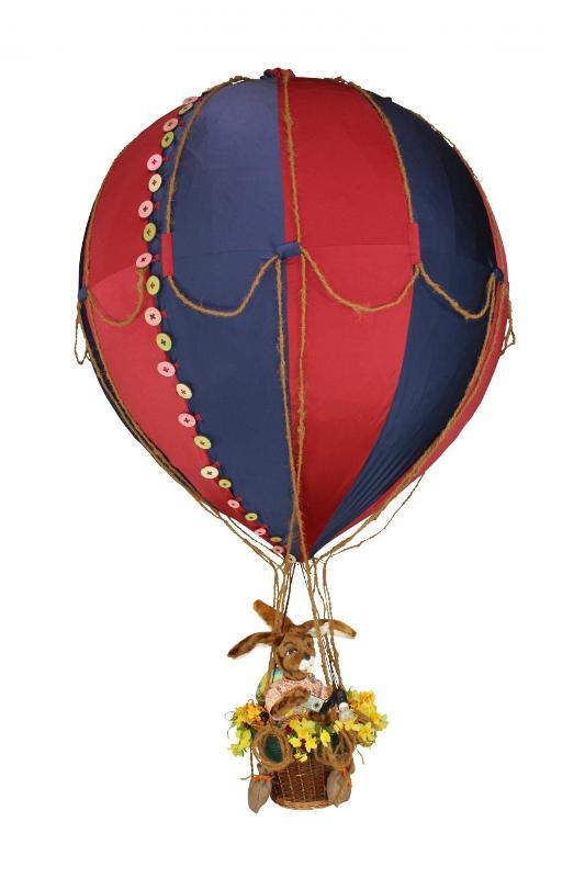 Balloon 190 cm with rabbit crew - null
