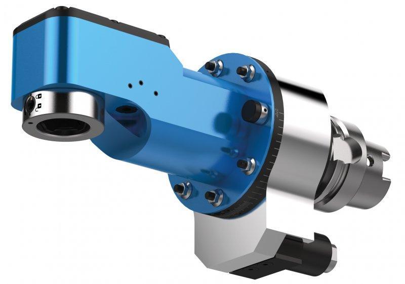 Winkelkopf FORTE WWX (zurückgesetzt) - CNC Aggregat / Winkelkopf zur Bearbeitung von Metall