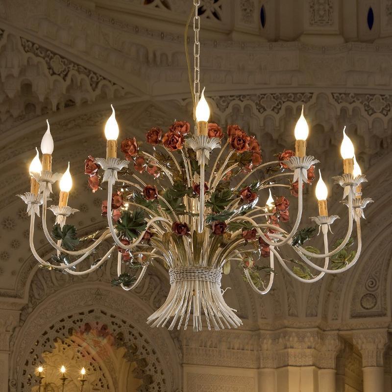Magnifique lustre ANCONA, diamètre 110 cm - Lustres style florentin