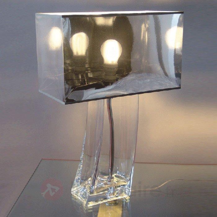 Impressionnante lampe à poser VANESSA transparente - Lampes à poser pour rebord de fenêtre