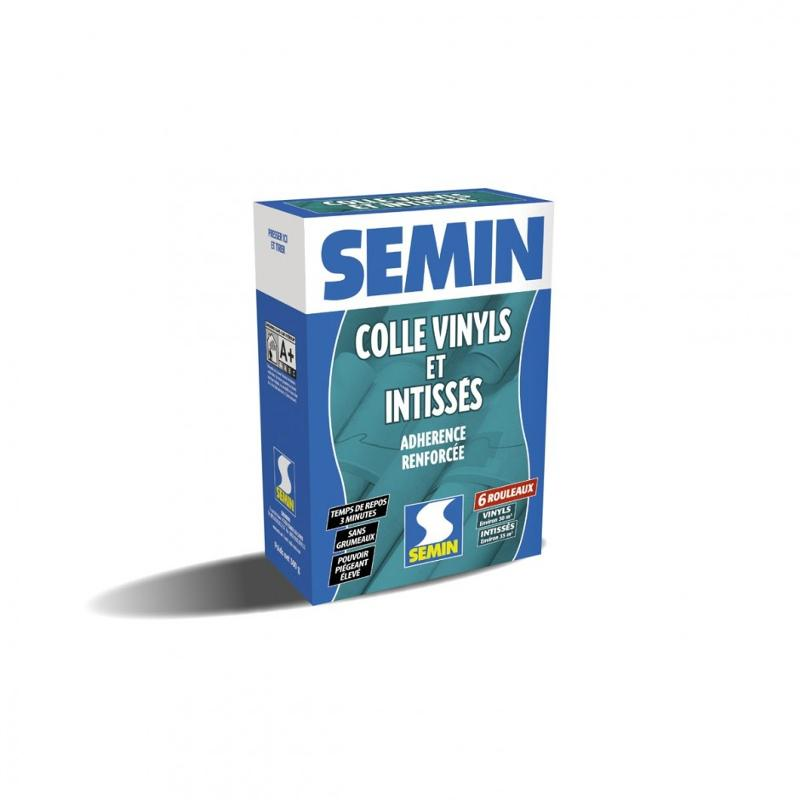 SEMIN ADHESIVE FOR VINYL AND NON-WOVEN COVERINGS AND LIGHT AND HEAVY WALLPAPER - adhesives for wallpapers and fabrics