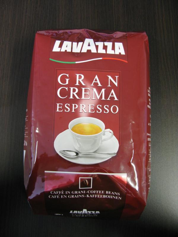 LAVAZZA GRAN CREMA ESPRESSO 1kg Coffee Beans - null