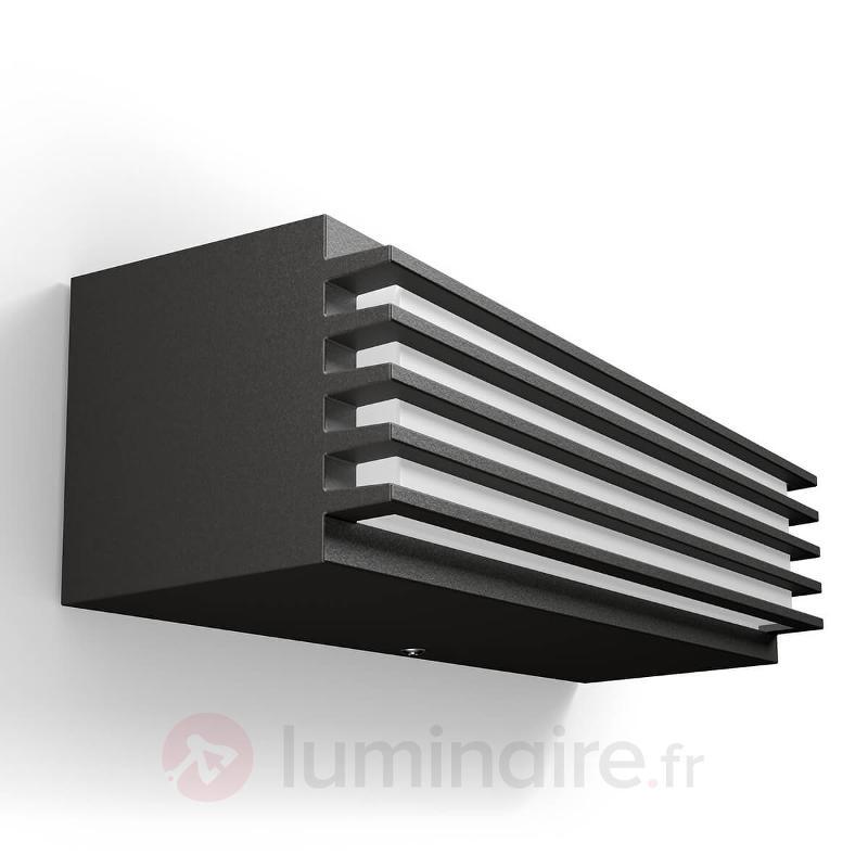Applique d'extérieur LED blanc neutre Pitchfork - Appliques d'extérieur LED