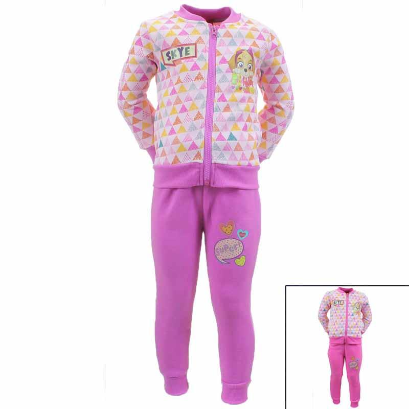 Paw Patrol child girl's tracksuit -